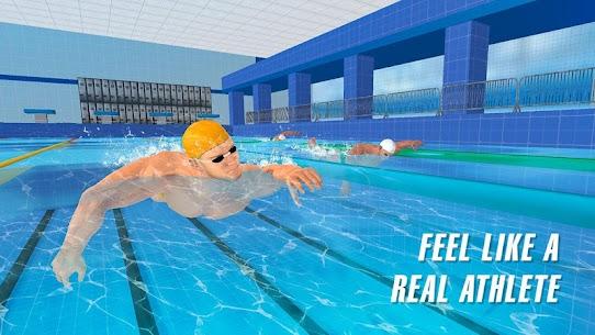 حمام سباحة سباق 4