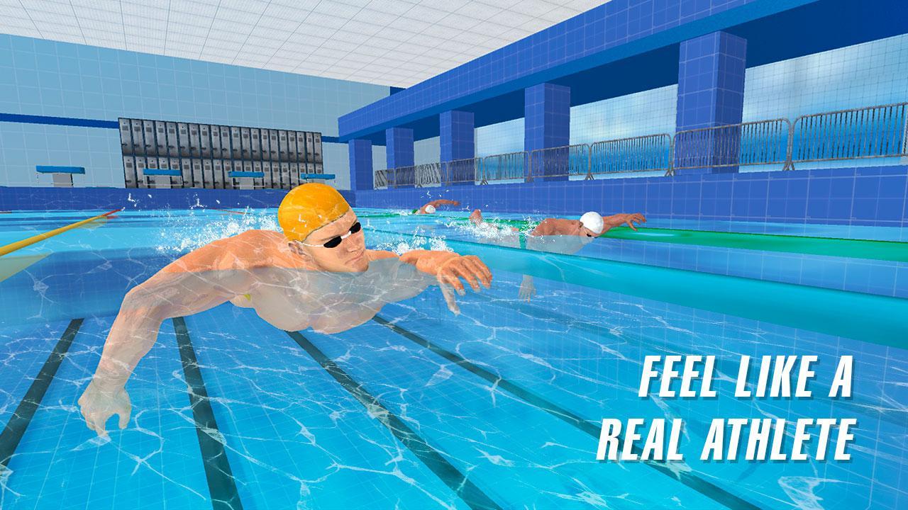 Swimming pool race 2017 screenshot