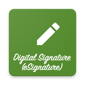 Digital Signature (eSignature) icon