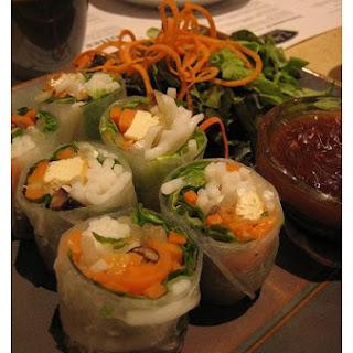 Mushrooms and Tofu In Hoisin Sauce.