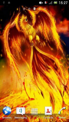 Bird of fire Live Wallpaper