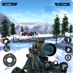 Winter Mountain Sniper – Modern Shooter Combat MOD APK 1.1.4 (Free Purchases)