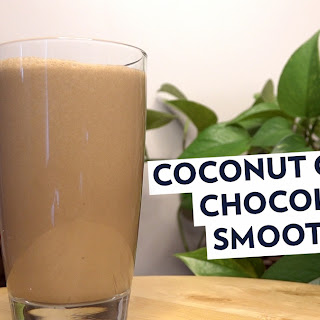COCONUT COFFEE CHOCLATE SMOOTHIE