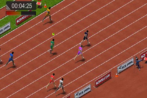100m Sprint Summer Games 2016