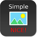 Nice Simple Photo Widget icon