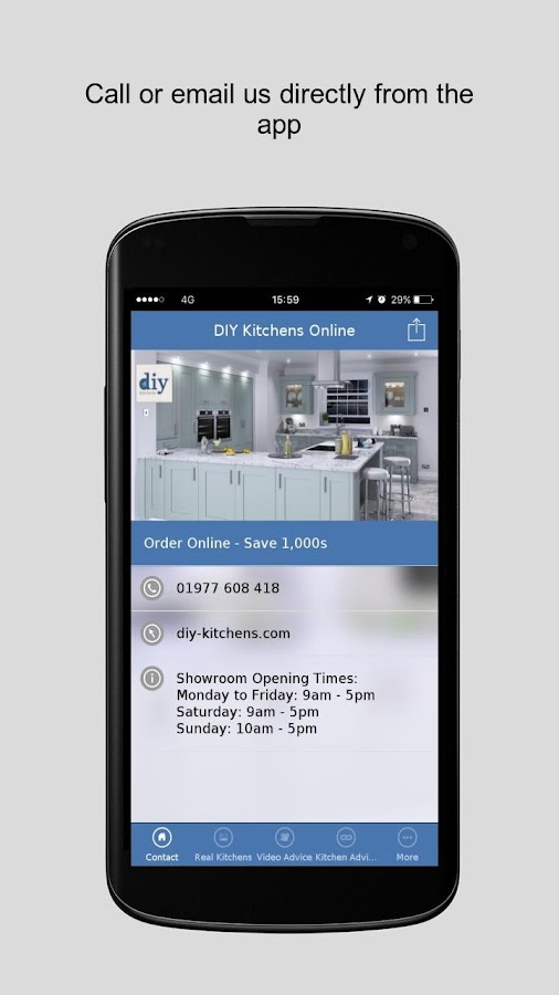 DIY Kitchens Online- screenshot