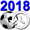 Football Soccer World Cup Russia 2018 Countdown icon