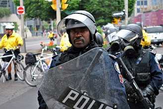 Photo: Meet the new face of a police state.
