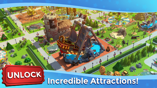 Download RollerCoaster Tycoon Touch MOD APK 3.13.4 3