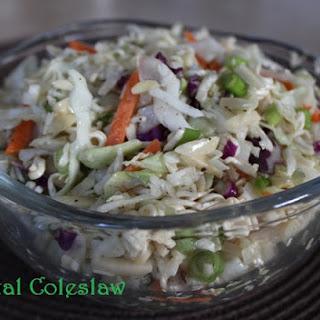 Jeff's Oriental Coleslaw.