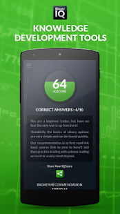 BinaryIQ - Binary Options Quiz- screenshot thumbnail