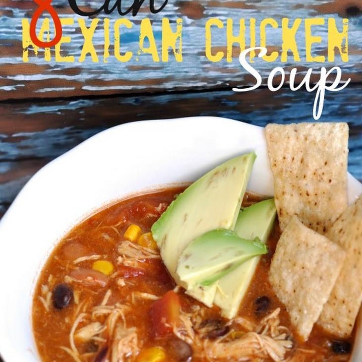 8 Can Chicken Tortilla Soup