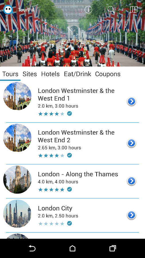 TourPal Travel Guide & Tours- screenshot