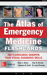 The Atlas of Emergency Medicine Flashcards Screenshot