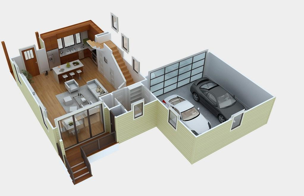 3d Home Plan Ideas Screenshot