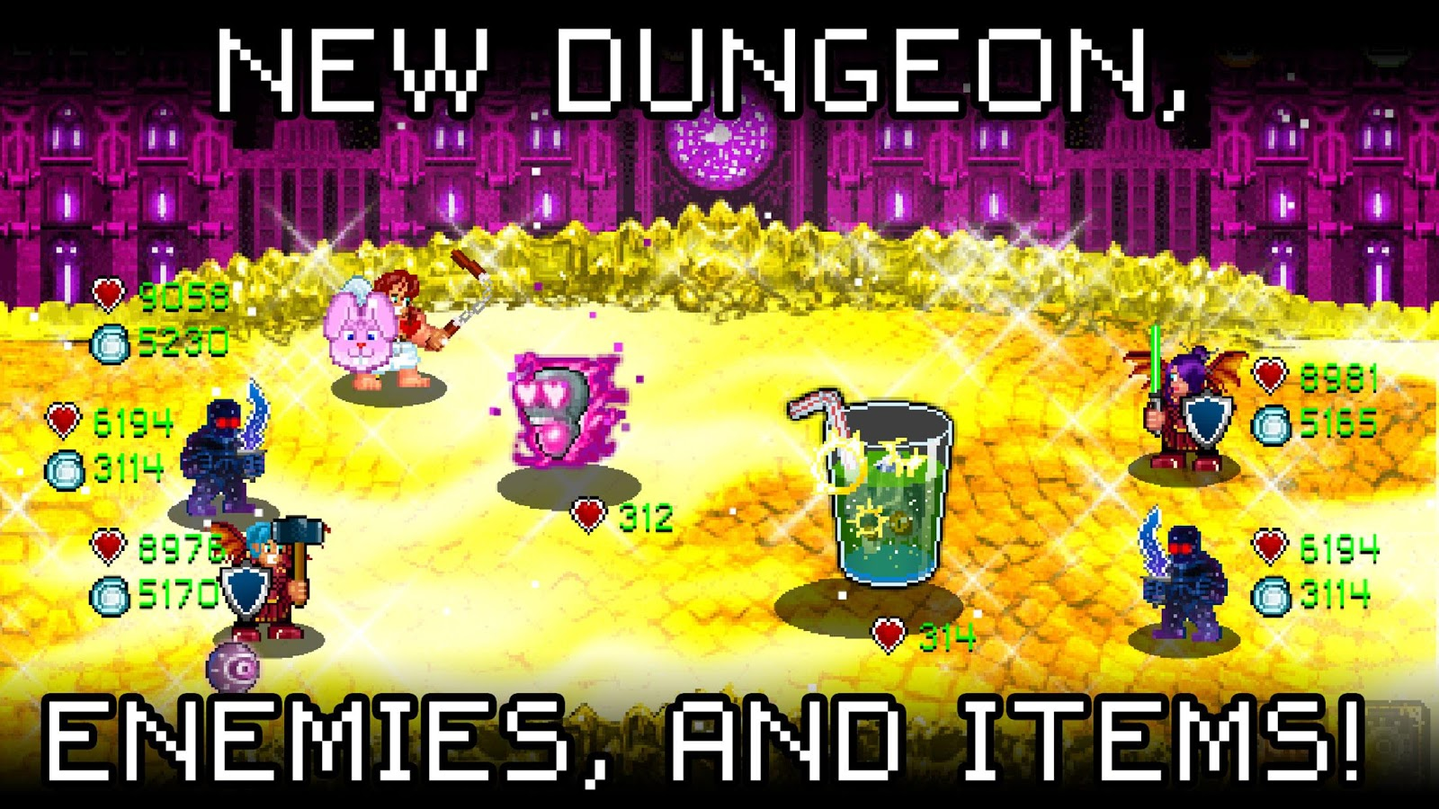Screenshots of Soda Dungeon for iPhone