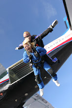 Photo: want to see something funny, I was going threw my old pictures, Its me my first jump. so funny