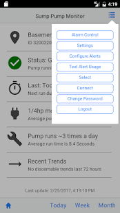 Sump Pump Monitor- screenshot thumbnail