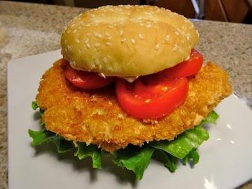 Maggie's Shrimp Burger Recipe
