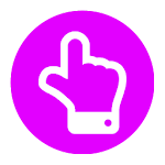 MultiTouch test free Icon