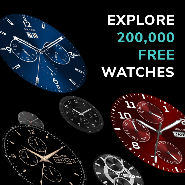 MR.TIME - FREE Watch Faces Maker- screenshot
