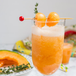 Cantaloupe Tequila Spritzer.