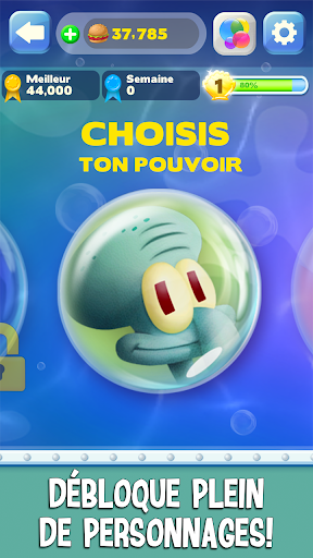 Code Triche Bob l'eponge: Bubble Party APK MOD screenshots 3