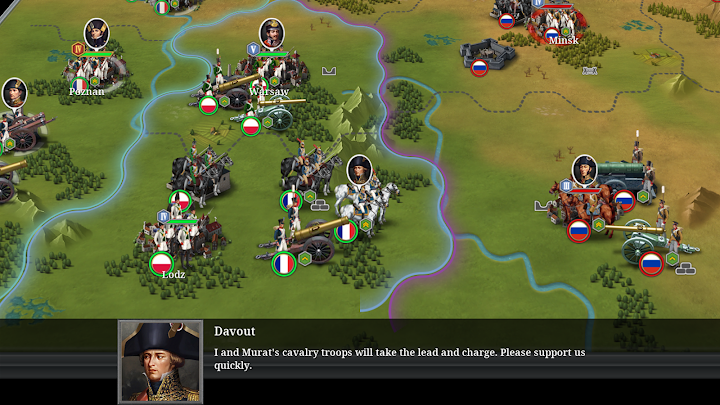 European War 6: 1804 Android App Screenshot