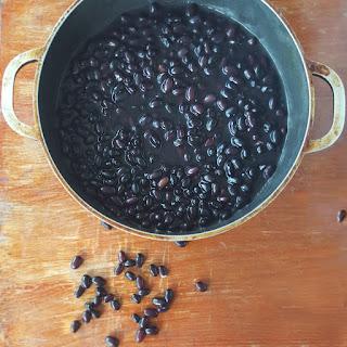 Basic Black Bean and Bean Liqueur Preparation Recipe