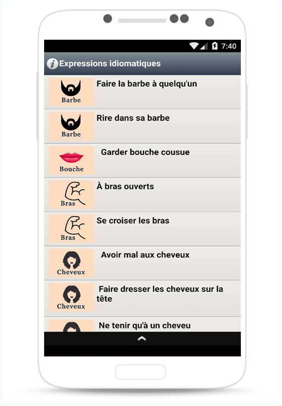 idioms and phrases dictionary app