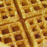 Buttermilk Waffle with Buttered Maple