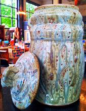 Photo: Jar, Fiddlehead at Four Corners, 338 Main Street, Bennington, Vermont (802) 447-1000 www.getartbehappy.com