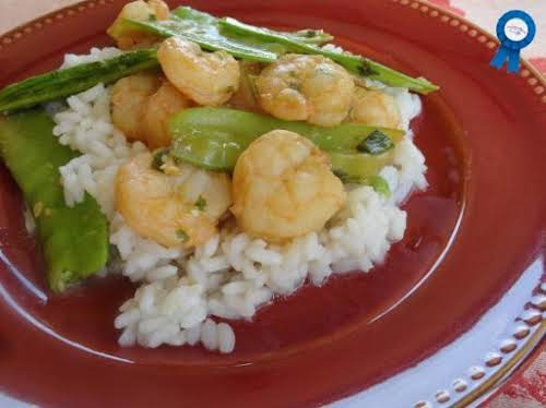 "Orange & Lemongrass Shrimp Stir-Fry ""I really like this dish, and my..."