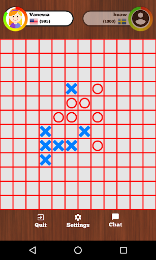 5 in a row online - Tic Tac Toe  screenshots 1