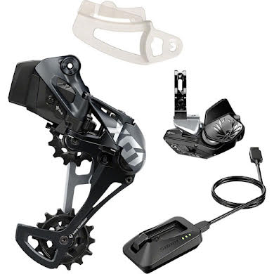 SRAM X01 Eagle AXS Upgrade Kit - Rear Derailleur for 52t Max Battery Eagle AXS Rocker Paddle Controller w