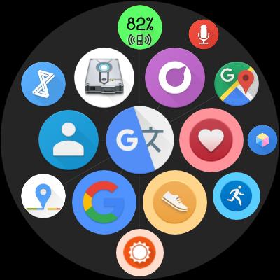 Bubble Cloud Wear Launcher Watchface (Wear OS) 9.39 screenshots 29