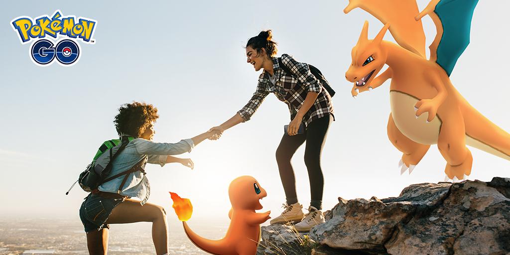 邀請朋友遊玩Pokémon GO,一起獲得獎勵吧!