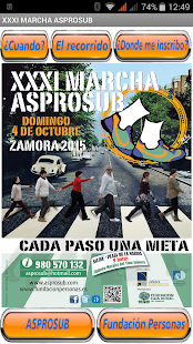 Marcha Asprosub Zamora - náhled