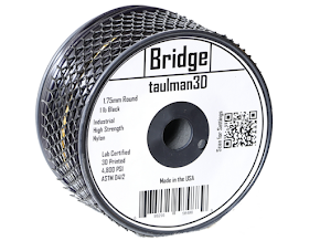 Taulman Black Bridge Filament - 1.75mm