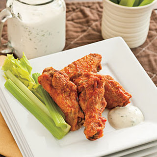Angela's Spicy Buffalo Wings.
