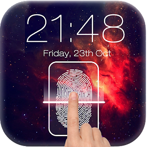 Fingerprint LockScreen Prank