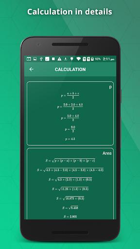 GeometrySoln : Geometry Calculation Solver 1.9 screenshots 4