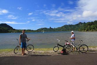 Photo: Bike Tour,Huahine