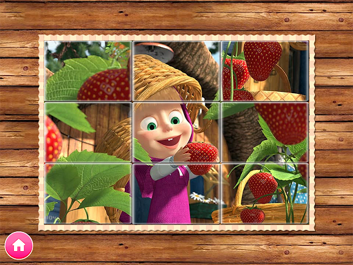 Masha and the Bear. Educational Games - screenshot