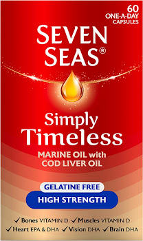 Seven Seas Simply Timeless Marine Oil With Cod Liver Oil - 60 Capsules