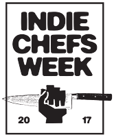 Indie Chefs Week NYC At Munchies Test Kitchen logo