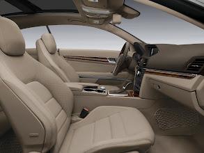 Photo: Almond and Mocha E-Coupe interior appointment