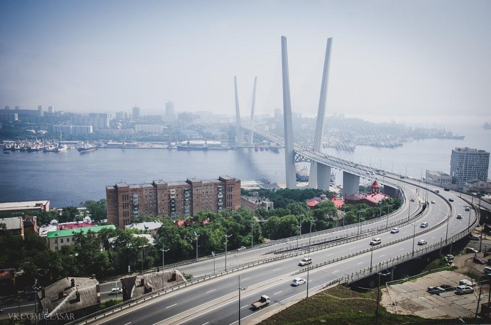 Вантовый мост, Владивосток