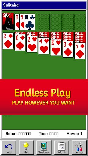 Solitaire 95 - The classic Solitaire card game filehippodl screenshot 4