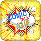 Comic Bubble Stickers GIF For Whatsapp
